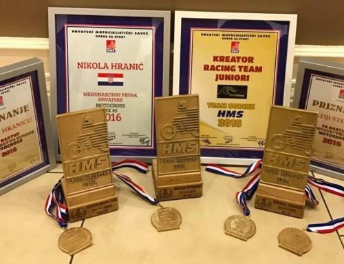 Kreator Racing timski prvak Hrvatske u motocrossu